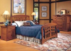 Greene & Greene Bedroom