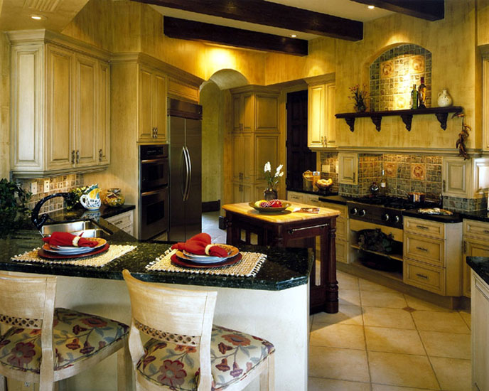 Designing a Tuscan Style Kitchen