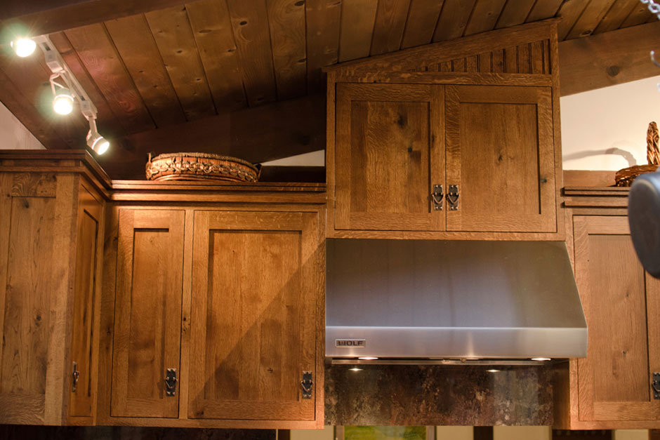 Designing an Amish-style Kitchen