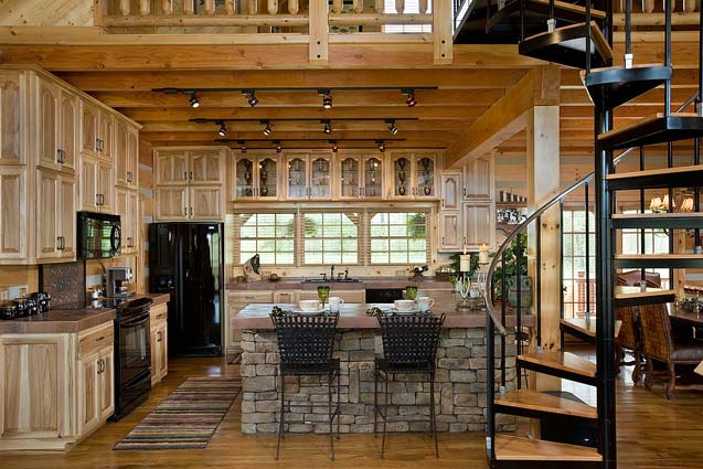 Essential Items for a Log Cabin Kitchen