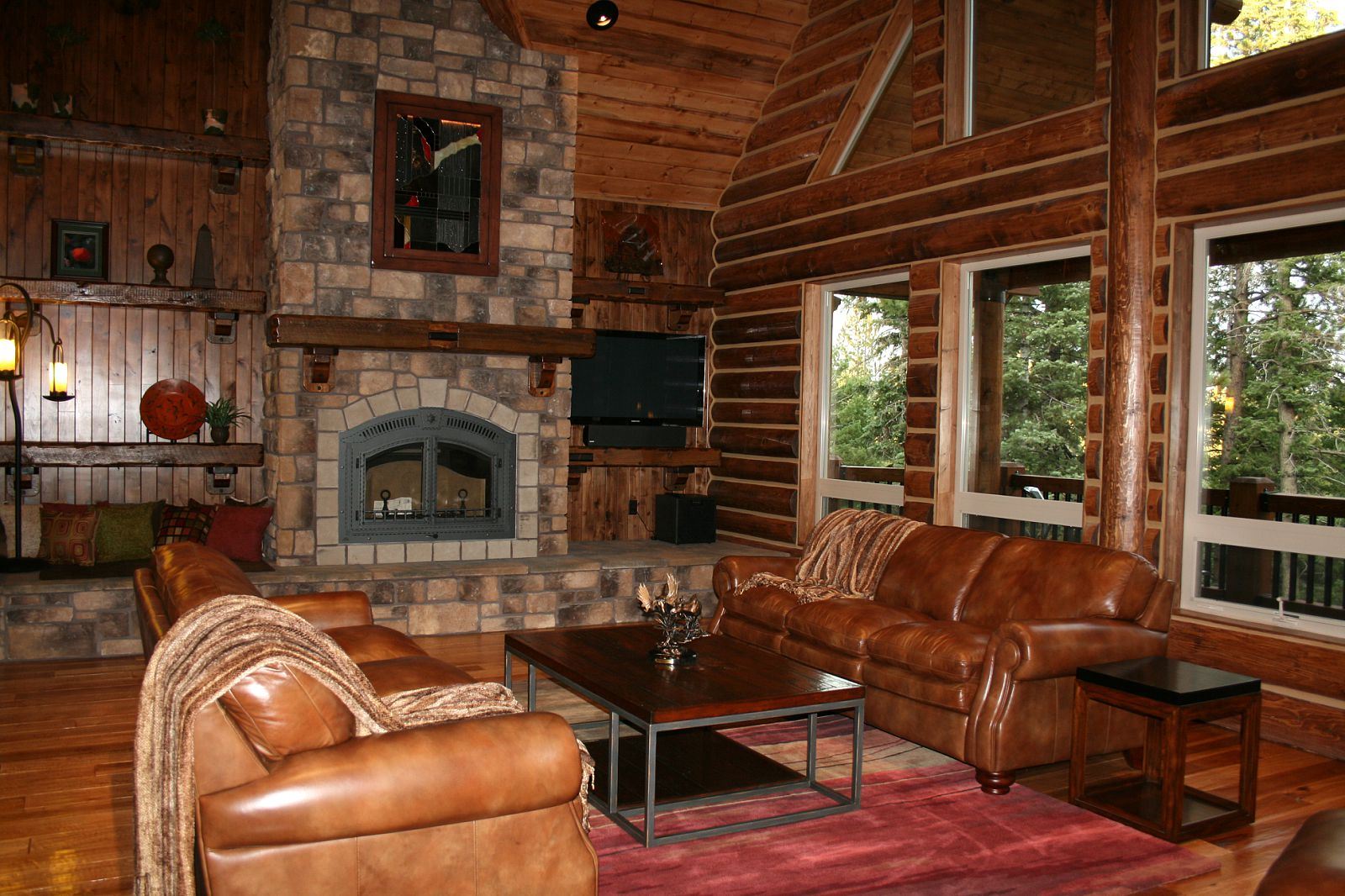 Rid Your Log Cabin Of Design Cliches