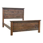 Barn Floor Plank Queen Bed