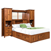 Wood Bedroom Furniture - Oak Bedroom Furniture - Mission Bedroom ...