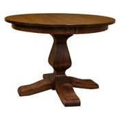 American Made Pedestal Dining Tables