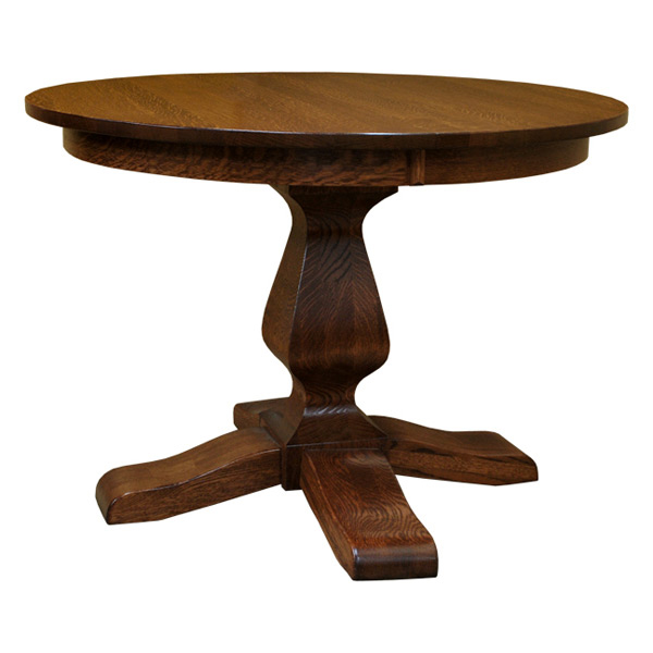 Ashley 42 inch round dining table with leaf drcvasp42r121 for 42 dining table with leaf