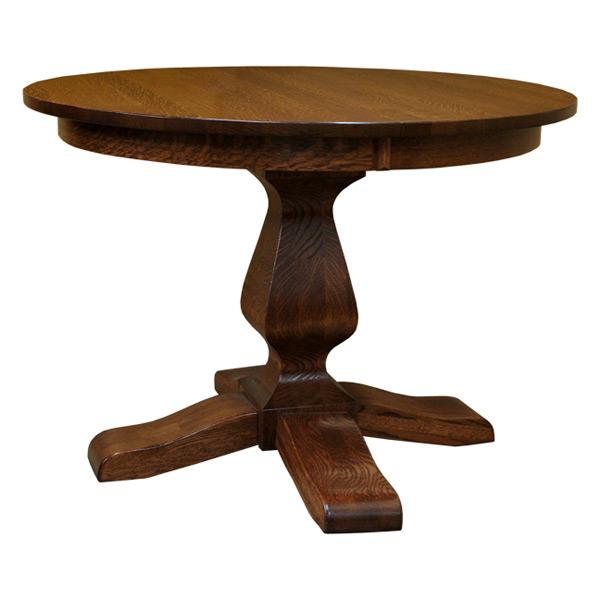 ashley 42 inch round dining table with leaf drcvasp42r121. Black Bedroom Furniture Sets. Home Design Ideas