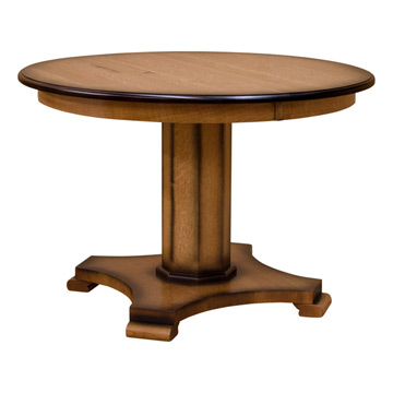 sierra round wood dining table drcvs44r24c1 - Round Wood Dining Table