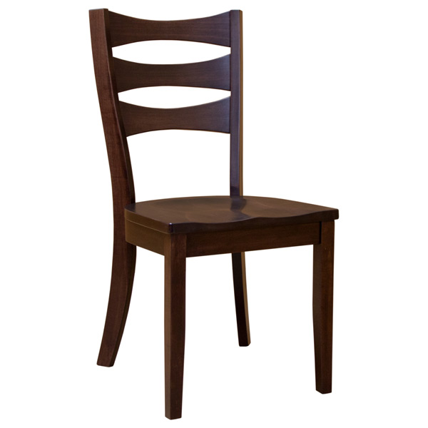 Sierra Nevada Solid Wood Kitchen Side Dining Chair Furniture: Amish Sierra Side Chair