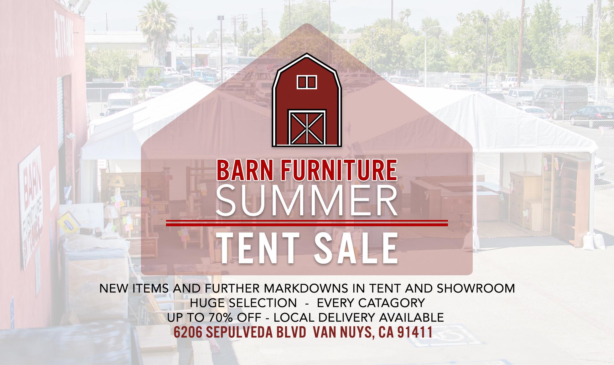 Summer Tent Sale