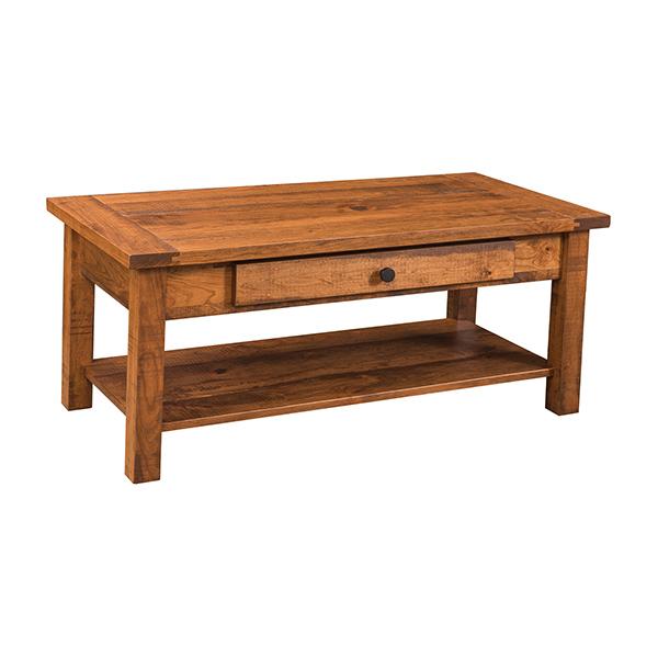 Farmhouse coffee table lfcofh2350c2 for Farmhouse end table set