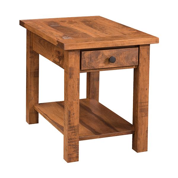 Farmhouse end table lfcofh2352c2 for Farmhouse end table set