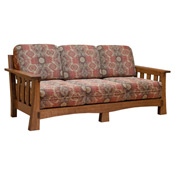 Captivating Amish Mission Sofa