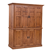 home office furniture - mission office furniture - oak office