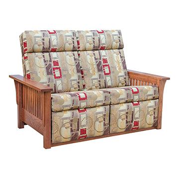 sc 1 st  Barn Furniture & Mission Recliner Love Seat - SLMI852A0 islam-shia.org