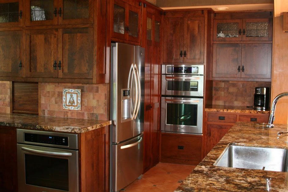 Custom Amish Kitchen Cabinets Barn Furniture