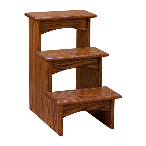 Mission Triple Step Stool Step Stools Barn Furniture