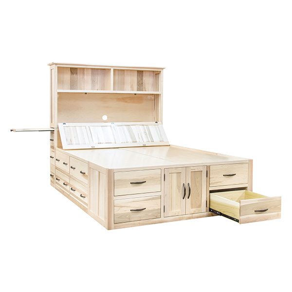 Mission Chest Bed Beds Barn Furniture