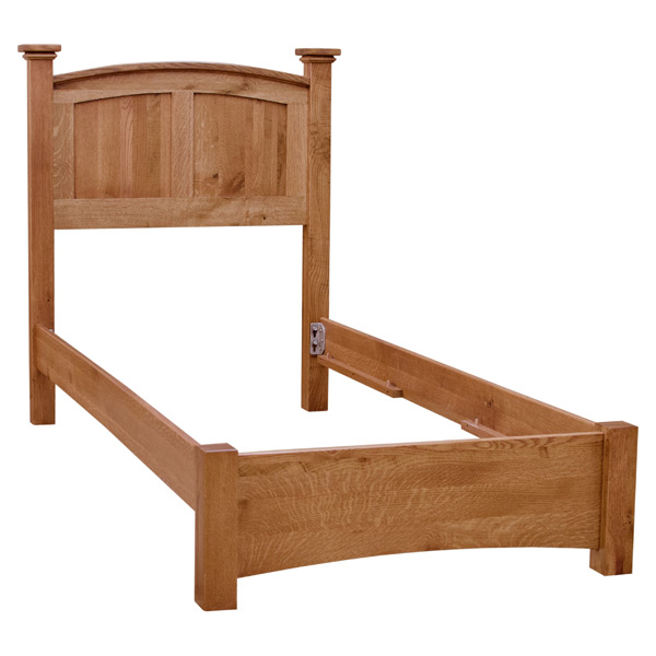 Arch Twin Extra Long Bed Beds Barn, How Long Is A Extra Twin Bed Frame