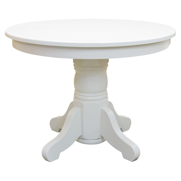 Amish 40 Round Pedestal Dining Table, 40 Round Pedestal Table