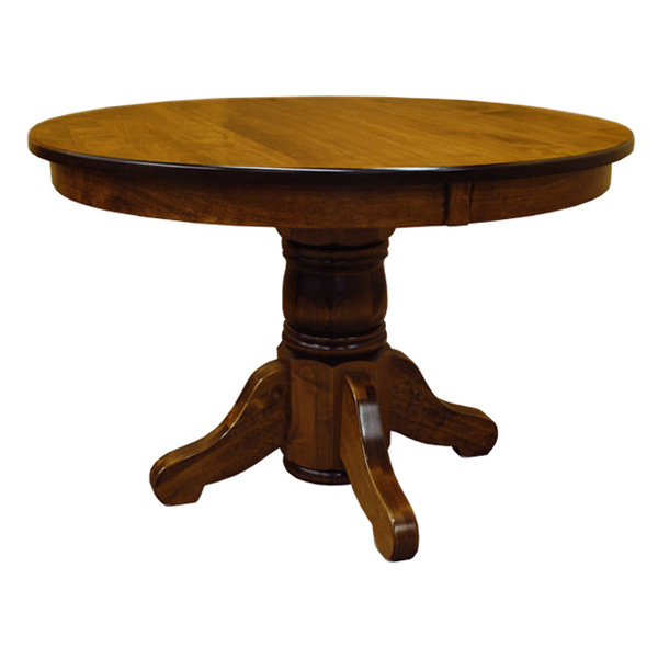 Traditional Inch Round Dining Table Dining Tables Barn - 44 inch round dining table with leaf