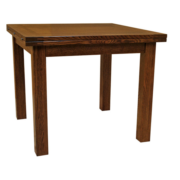 Flip Top Solid Wood Dining Table