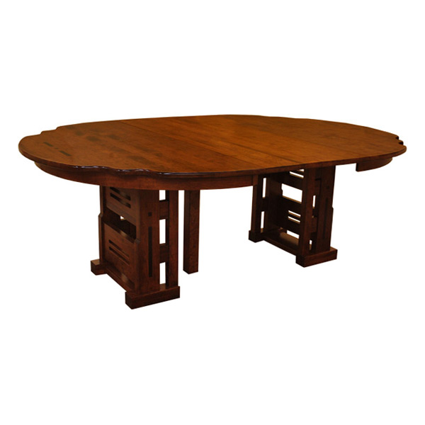 Round Greene Greene Table W Leaves Dining Tables Solid - 60 round conference table