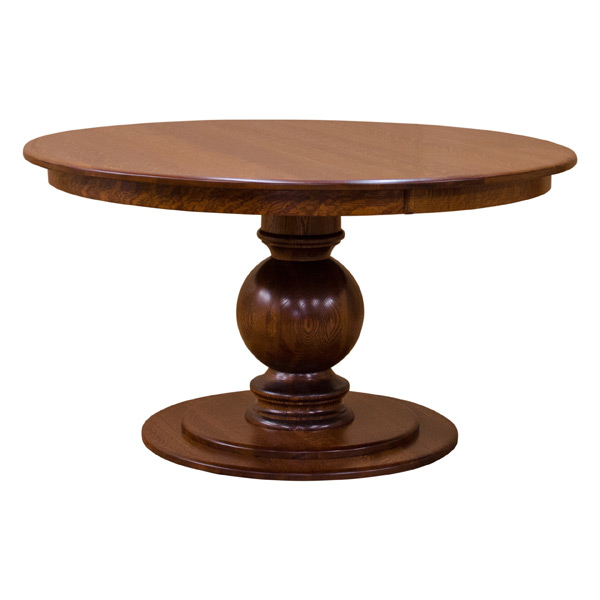 Global 54 Round Pedestal Dining Table, 54 Round Pedestal Table