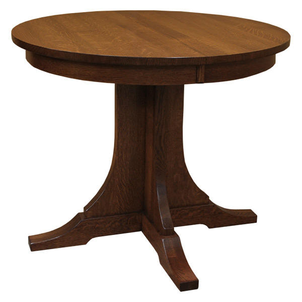 Mission 36 Round Dining Table