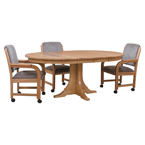 Round Cherry Dining Table Dining Tables Barn Furniture