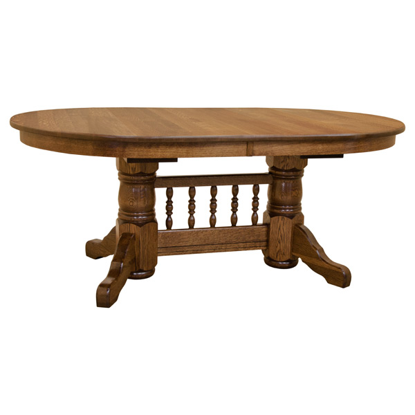 Traditional Oval Dining Table W Leaves Dining Tables Made - Traditional oval dining table