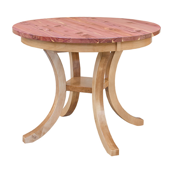 Carlisle Dining Table Cedar Wood Dining Tables Solid Wood - Carlisle dining table