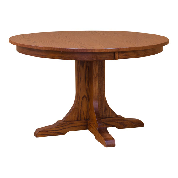 48 Round Mission Table Dining Tables Barn Furniture