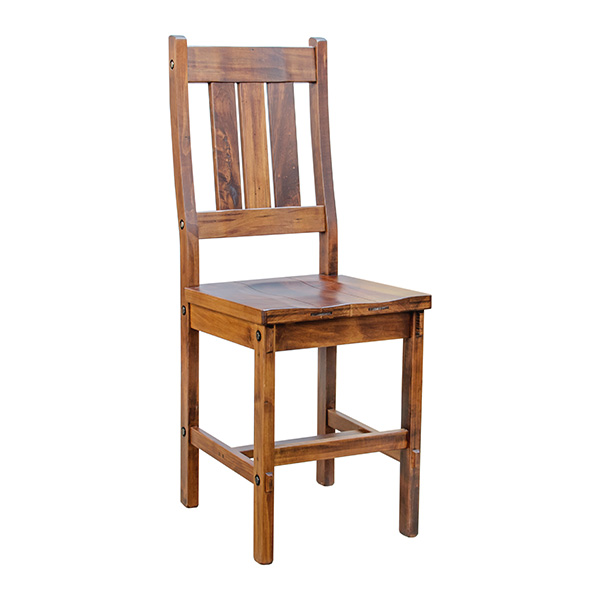 Tremendous Rustic Timber Counter Stool Pdpeps Interior Chair Design Pdpepsorg