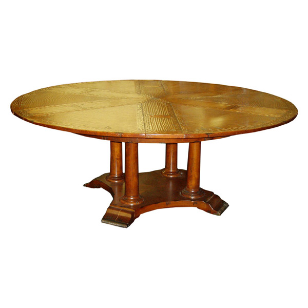 Scottsdale English 60 Round Pedestal Dining Table