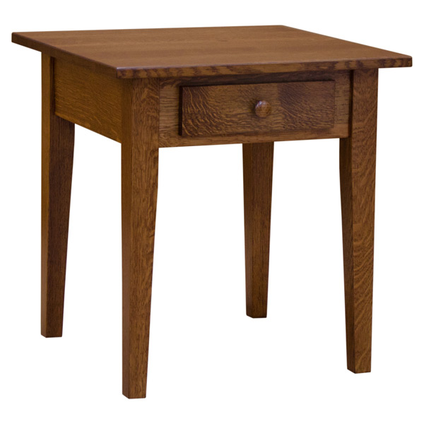 Amish Mission Shaker End Table