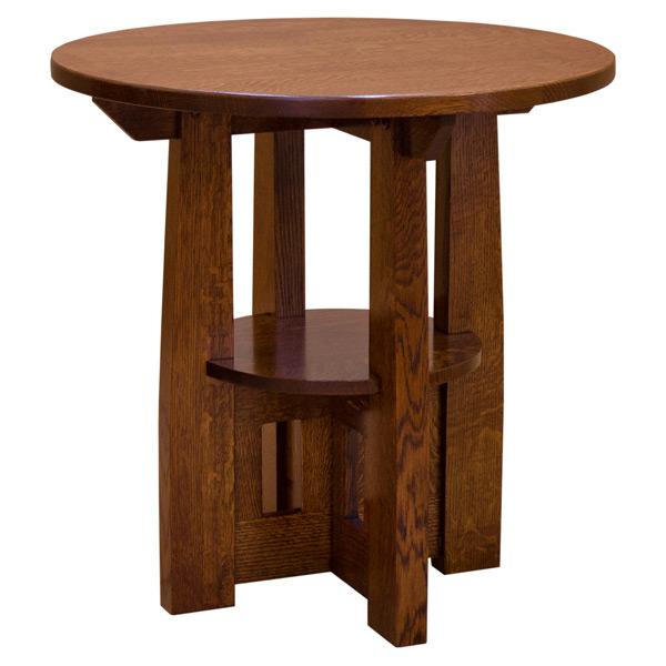Charles Limbert Round End Table Barn Furniture
