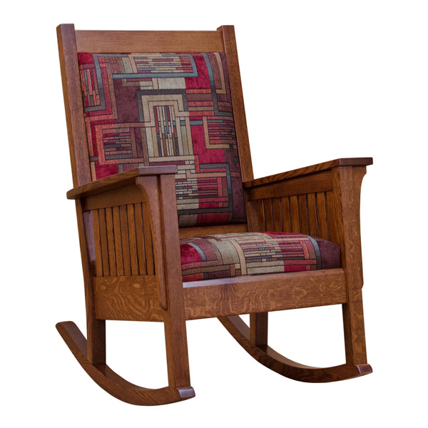 Amish Mission Rocker Rocking Chairs Barn Furniture