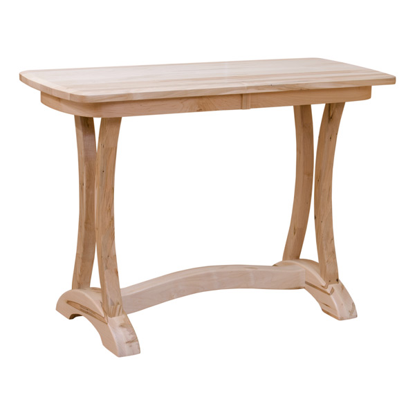 Wormy Maple Sofa Table