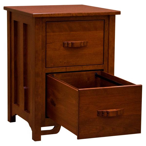 Amish Greene Greene 2 Drawer Legal File Cabinet