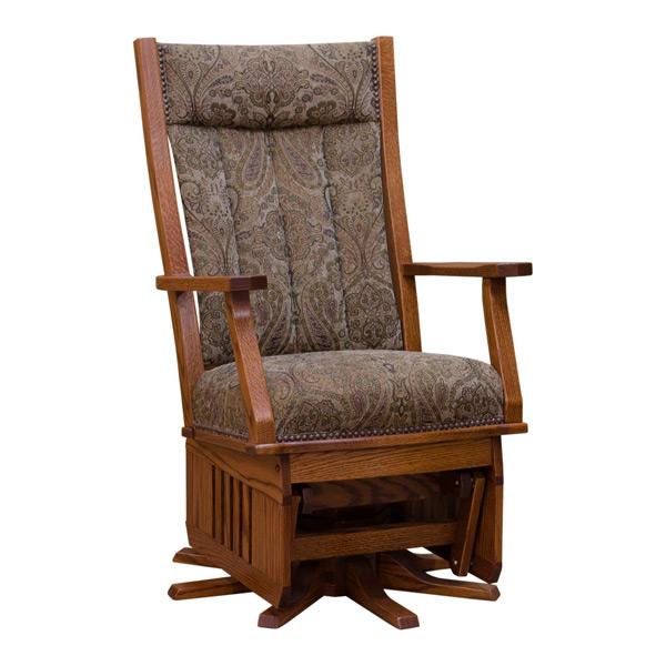 Pleasing Mission Swivel Glider Rocker Unemploymentrelief Wooden Chair Designs For Living Room Unemploymentrelieforg
