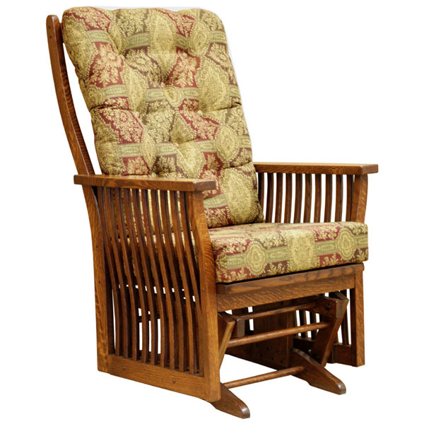 Mission Glider Rocker Rocking Chairs Barn Furniture