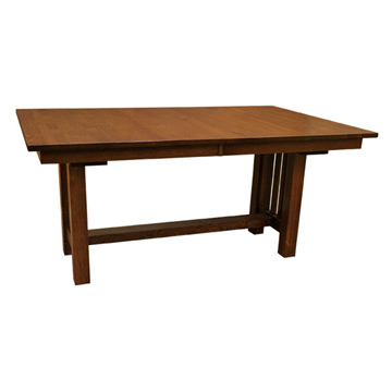 Remarkable Mission Amish Dining Table With Leaves Beutiful Home Inspiration Xortanetmahrainfo