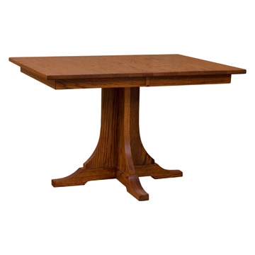 Mission Dining Table W Leaves Dining Tables Barn Furniture - Dining table with 3 leaves
