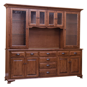 Traditional China Cabinet   Character Cherry