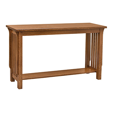 Mission Spindle Sofa Table