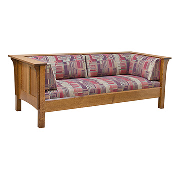 Elegant Shaker Sofa