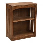 """24"""" x 30"""" Solid Oak Mission Spindle Bookcases"""
