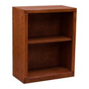 "Contemporary 24"" x 30"" Oak Bookcase"