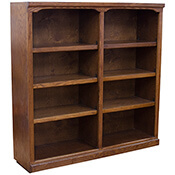 """Traditional 48"""" x 48"""" Bookcase"""