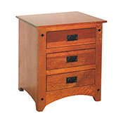Siesta Mission 5 Drawer Chest Barn Furniture